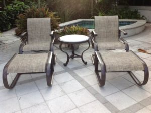 patio furniture repair restoration services absolute powder coating rh absolutepowdercoat com patio furniture sample road coral springs
